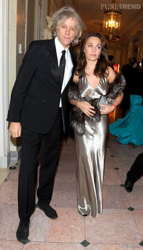 Bob Geldof et Jeanne Marine amoureux depuis 19 ans.