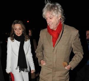Bob Geldof et Jeanne Marine ont traversé les épreuves ensemble.