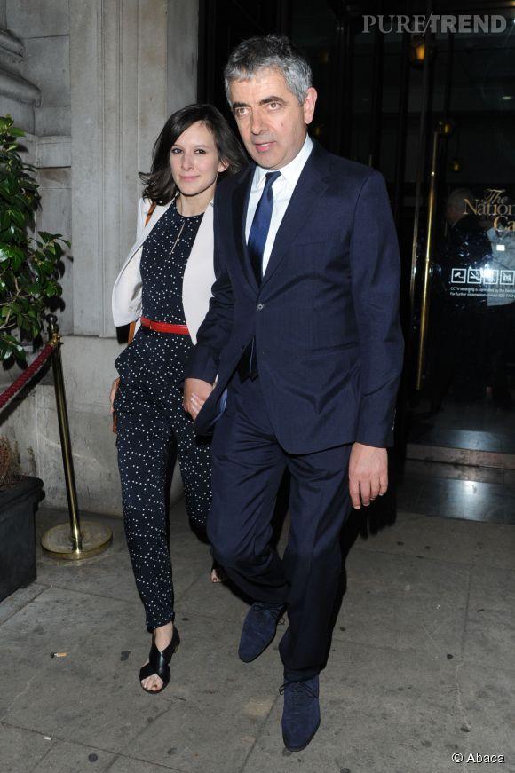 Rowan Atkinson est en couple avec Louise Ford depuis un peu plus d'un an.