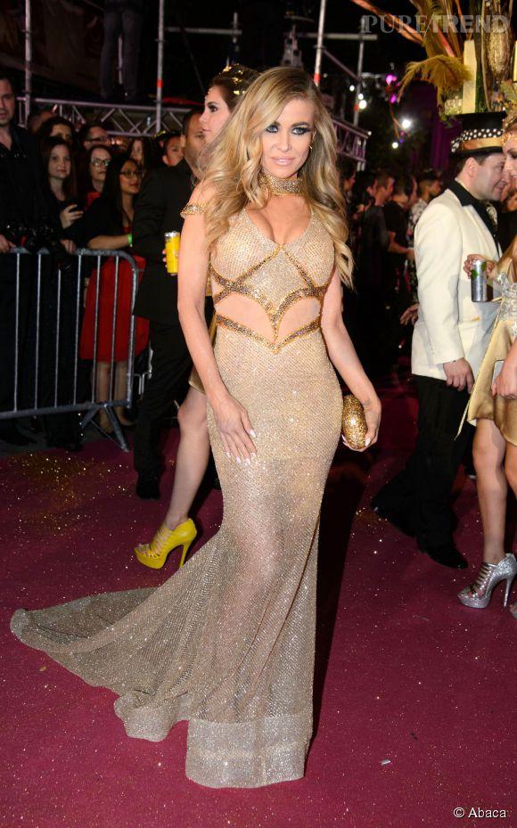 Carmen Electra au Life Ball de Vienne le 16 mai 2015.