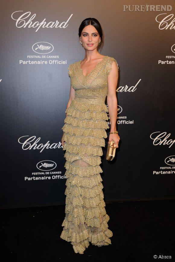 Catrinel Marlon lors de la soirée Gold de Chopard à Cannes le 18 mai 2015.