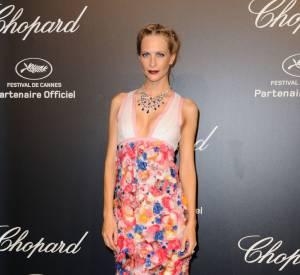 Poppy Delevingne en Chanel lors de la soirée Gold de Chopard à Cannes le 18 mai 2015.