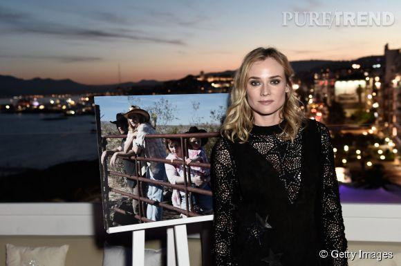 """Diane Kruger était hier soir, lundi 18 mai 2015, à une projection spéciale du film """"Sky"""", dans lequel elle tient le rôle principal."""