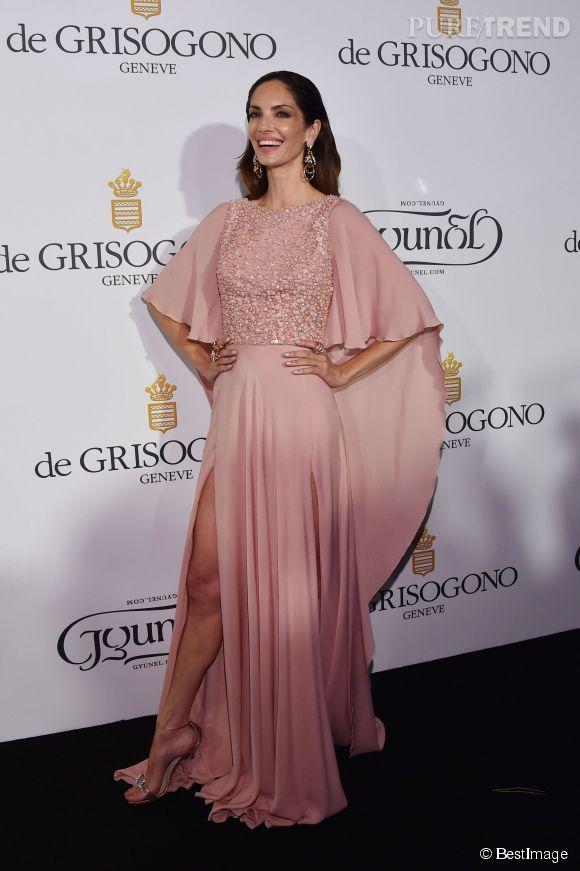 """Eugenia Silva lors de la soirée """"Divine in Cannes"""" de Grisogono le 19 mai 2015 à Cannes."""