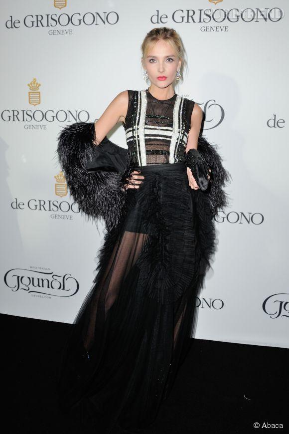 """Snejana Onopka lors de la soirée """"Divine in Cannes"""" de Grisogono le 19 mai 2015 à Cannes."""