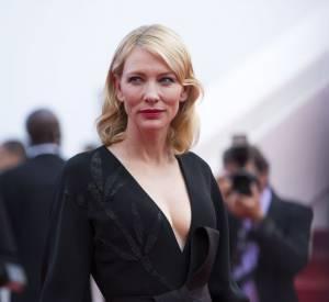 Décolleté minimaliste pour Cate Blanchett