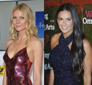 Gwyneth Paltrow et Demi Moore : canons sans maquillage !