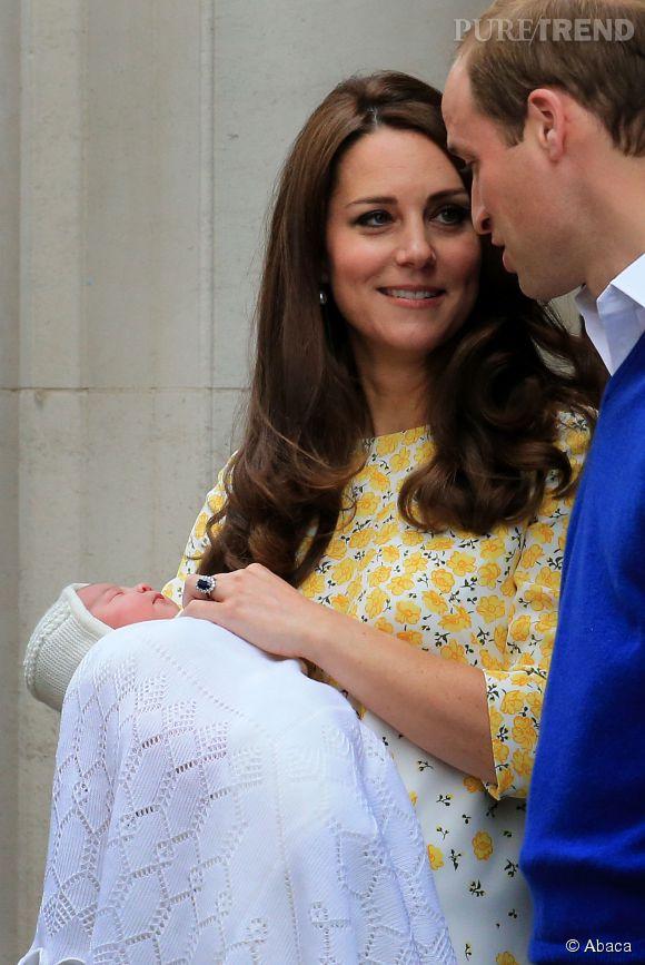 Kate Middleton et le Prince William sont très amoureux, mais quand il s'agit de veiller sur les enfants, Madame ne rigole plus!