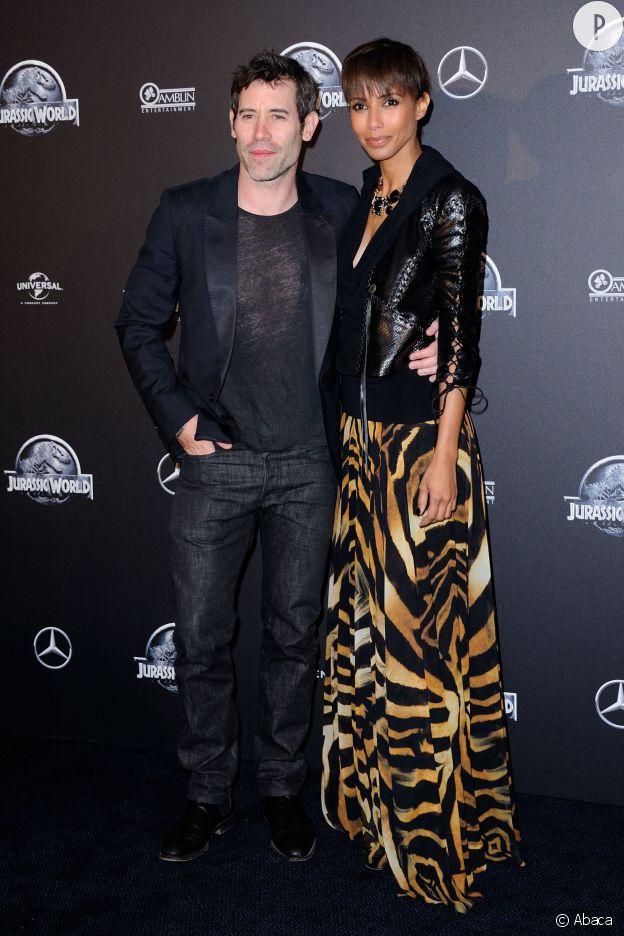 Sonia Rolland et son mari Jalil Lespert, le 29 mai 2015 à Paris.