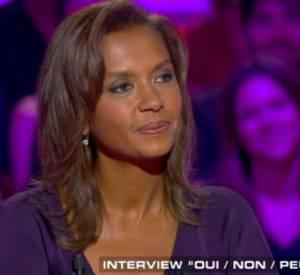 """Karine Le Marchand sur le plateau de """"Salut les terriens"""" ce samedi 13 juin 2015 sur Canal+."""