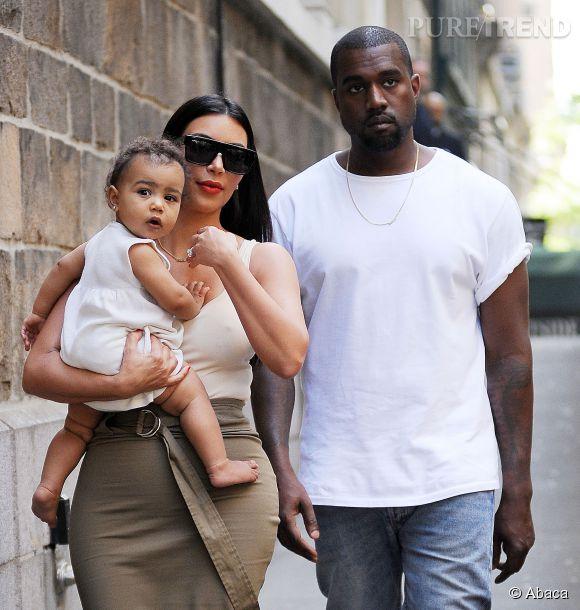 La famille West de sortie.