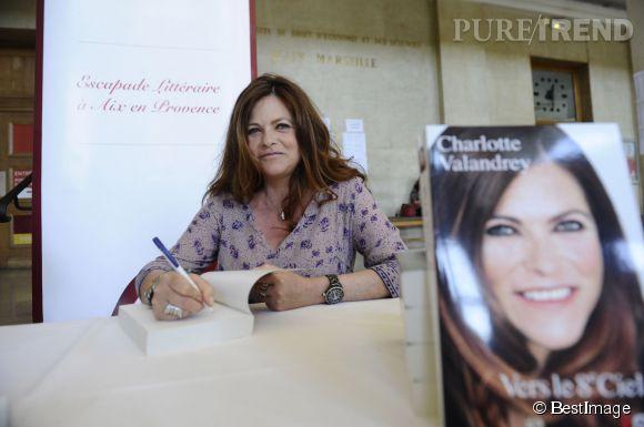 Charlotte Valandrey a elle aussi fait le déplacement pour cette escapade littéraire.