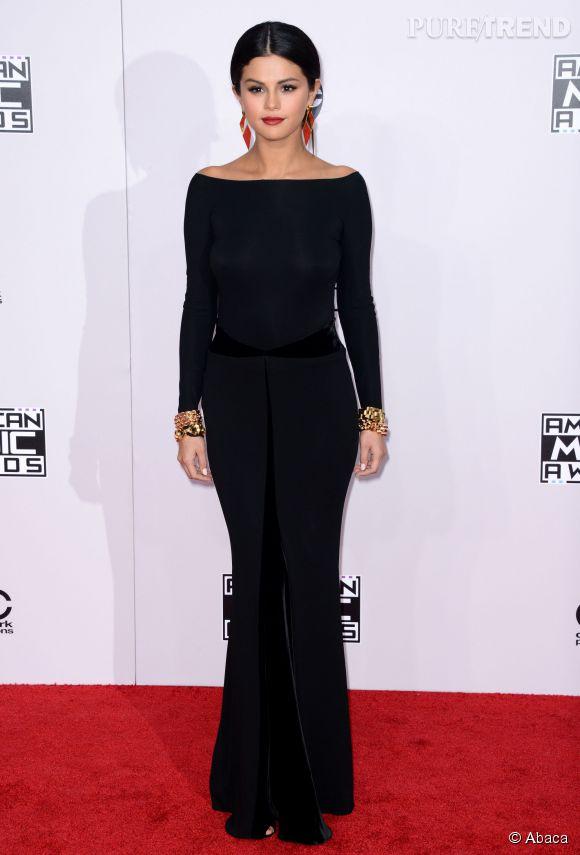 Selena Gomez lors des American Music Awards.