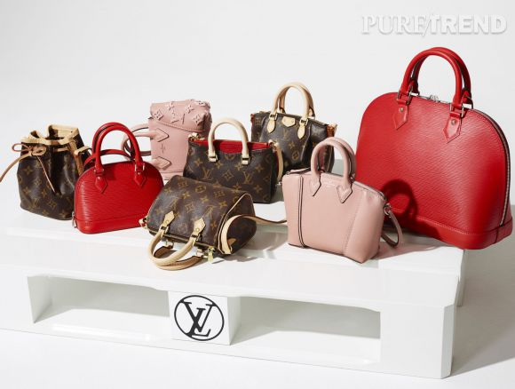 Louis Vuitton revisite sa gamme en version mini.