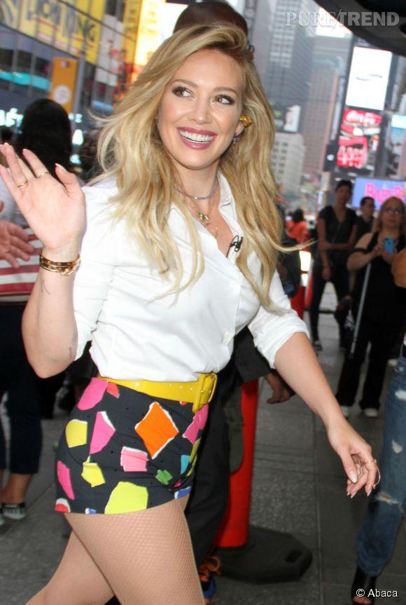 """Hilary Duff signe son grand retour dans la musique avec son nouvel album """"Breathe In. Breathe Out""""   ."""