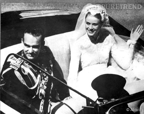 Grace de Monaco épouse le prince Rainier, le 18 avril 1956. Avant de se marier avec Rainier, Grace Kelly était une actrice hollywoodienne.