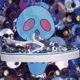 Vans x Murakami Collection version têtes de mort.