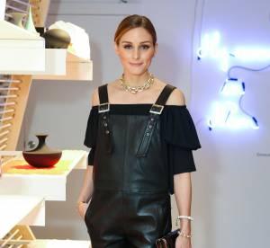 Olivia Palermo ose la salopette en cuir... on prend exemple sur elle