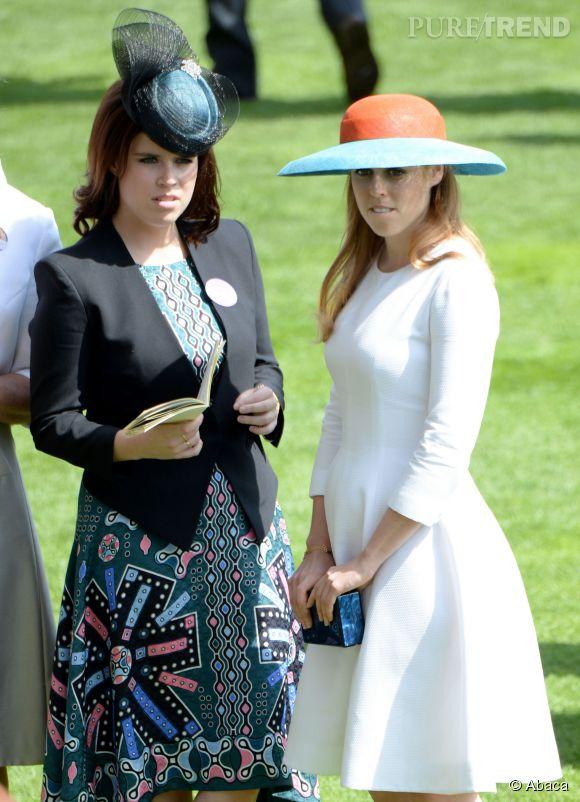 Au Royal Ascot, Eugenie et Beatrice d\u0027York sont apparues look\u0026eacute;es  comme