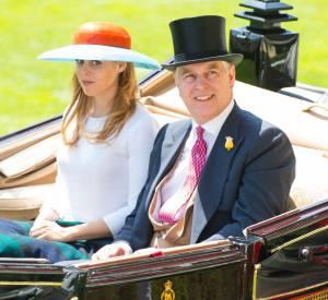 La princesse est arrivée dans le même landau celui de la reine et de son père.