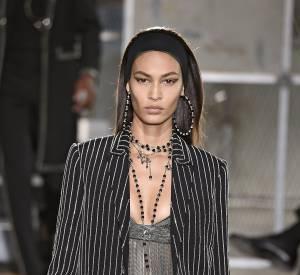 Joan Smalls au défilé Givenchy homme Printemps-Été 2016.