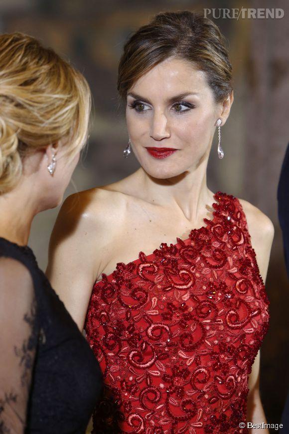 Letizia d'Espagne et Angelica Rivera, la Première dame du Mexique, ont conversé avec style !