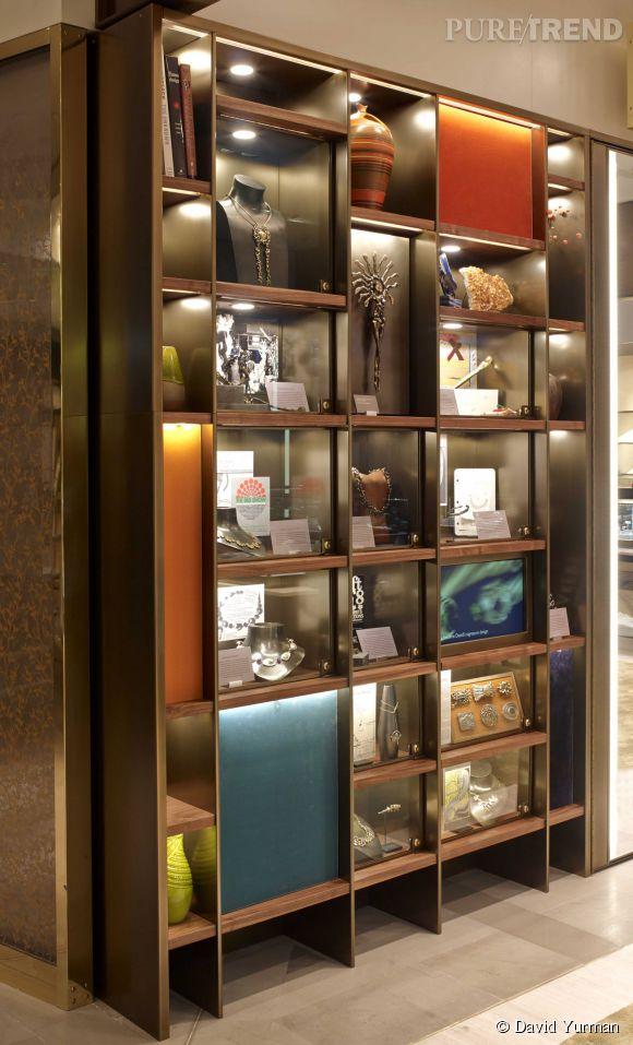 La nouvelle boutique David Yurman ouvre aux Galeries Lafayette.