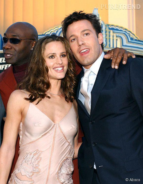 """Ben Affleck et Jennifer Garner, en 2003 à la première du film """"Daredevil""""."""
