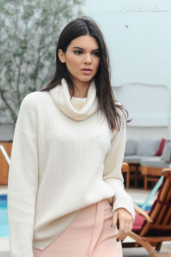 Kendall Jenner, top model à succès.
