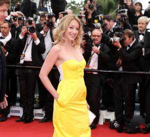 Ludivine Sagnier ose la robe bustier jaune flashy à Cannes. Résultat ? On a envie de la copier !