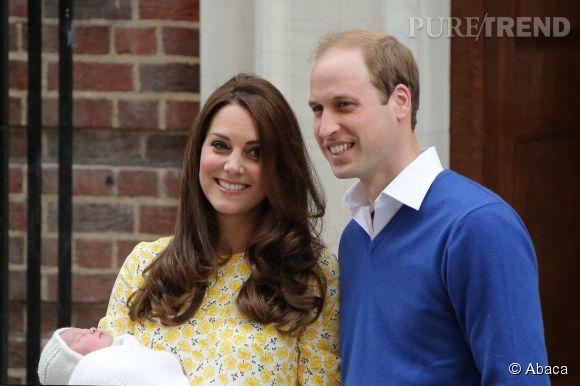 La Princesse Charlotte sera baptisée dimanche 5 juillet 2015, la liste des invités vient d'être dévoilée!