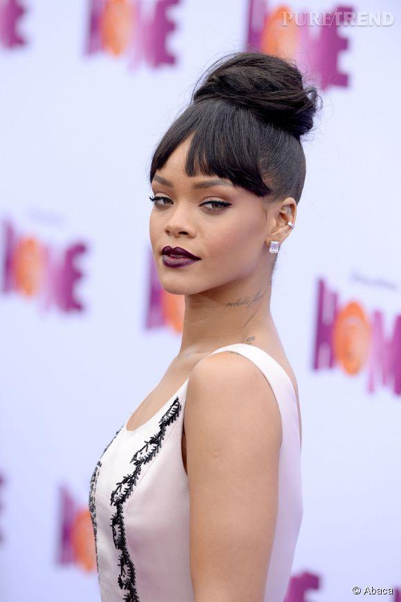 Rihanna aime toujours autant s'exhiber.