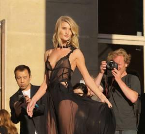 Rosie Huntington, Naomi Campbell... invasion de bombes chez Atelier Versace