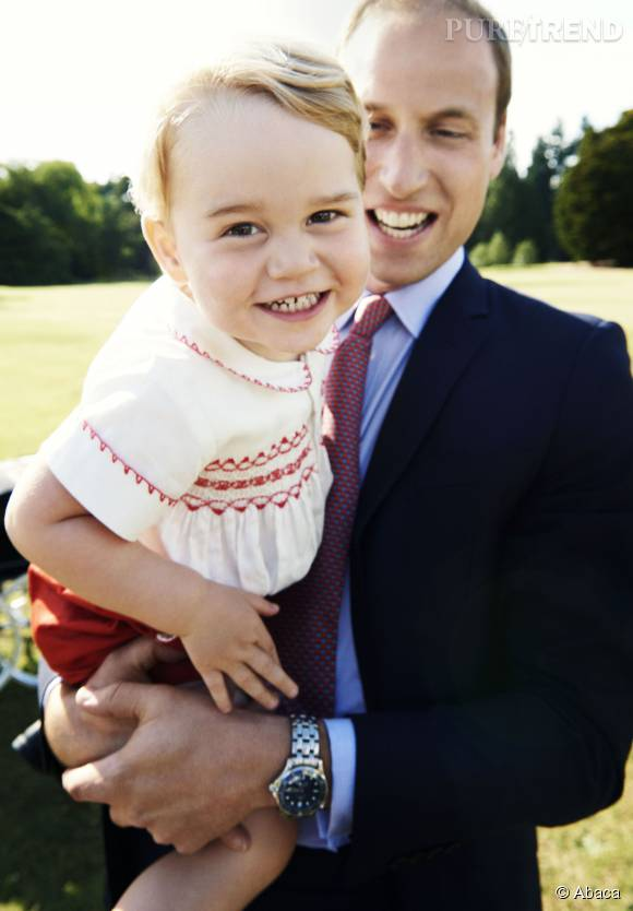 L'adorable George a fêté ses deux ans le 22 juillet.