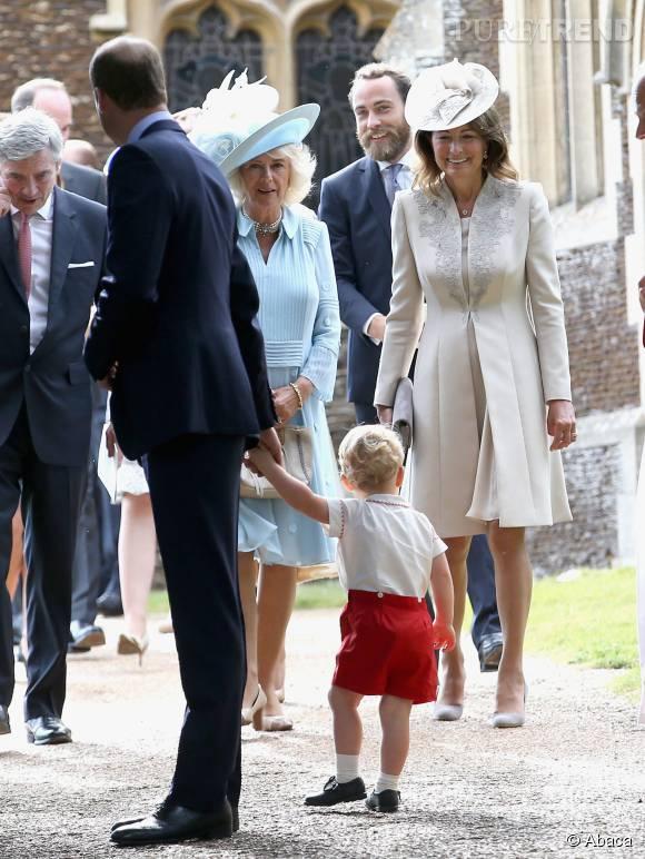 Les Middleton donnent du fil à retordre à la reine.