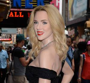 Scarlett Johansson : découvrez sa sublime statue de cire !
