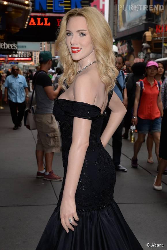 Le musée Tussauds de New York inaugurait la statue de cire de Scarlett Johansson.
