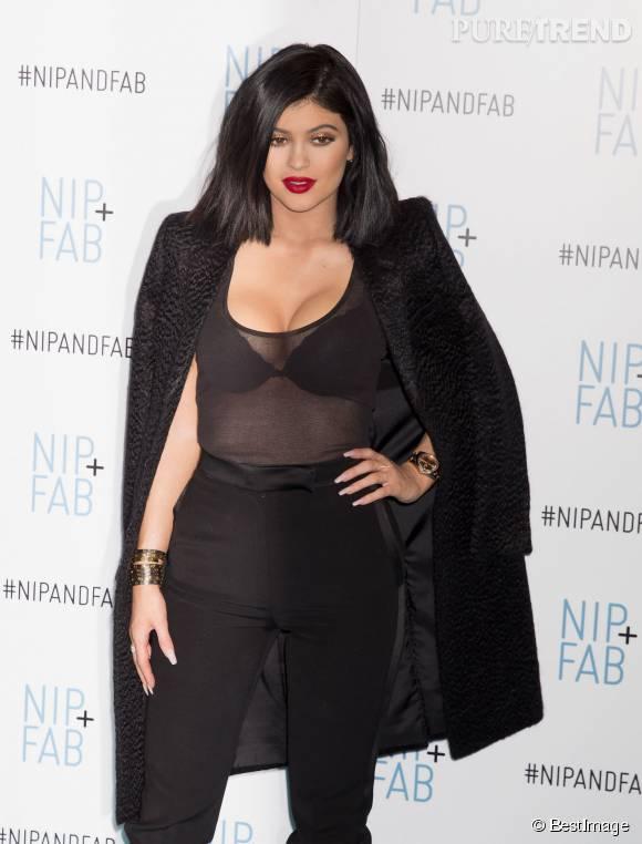 Kylie Jenner, plus sexy que jamais à l'approche de ses 18 ans.