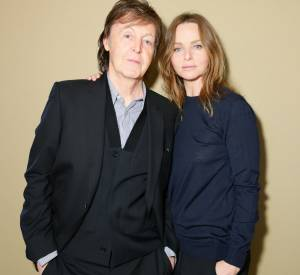 Stella McCartney et son père, Paul.