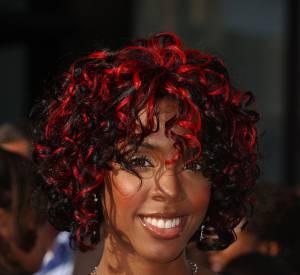 Kelly Rowland à l'époque des Destiny's Child avait fait des mèches rouges dans les cheveux la signature de son look.