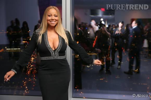 Mariah Carey a fait sensation lors de la Fashion Week new-yorkaise.