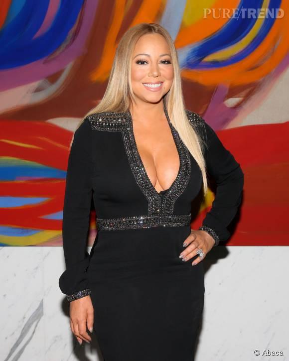 Mariah Carey sait comment attirer tous les regards.