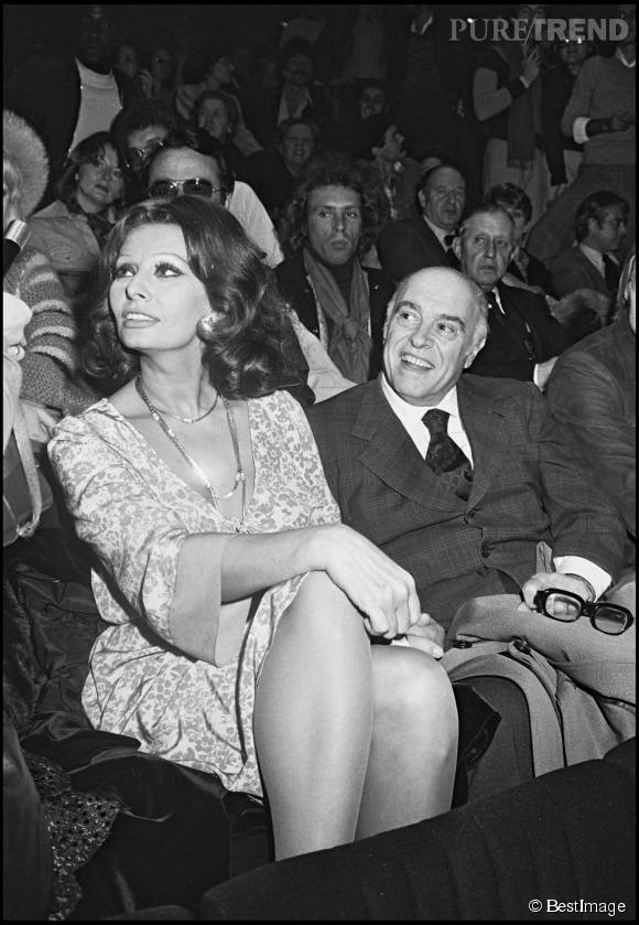 Sophia Loren et Carlo Ponti ont vécu ensemble durant cinquante ans.