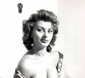 Sophia Loren a beaucoup joué de son sex-appeal...