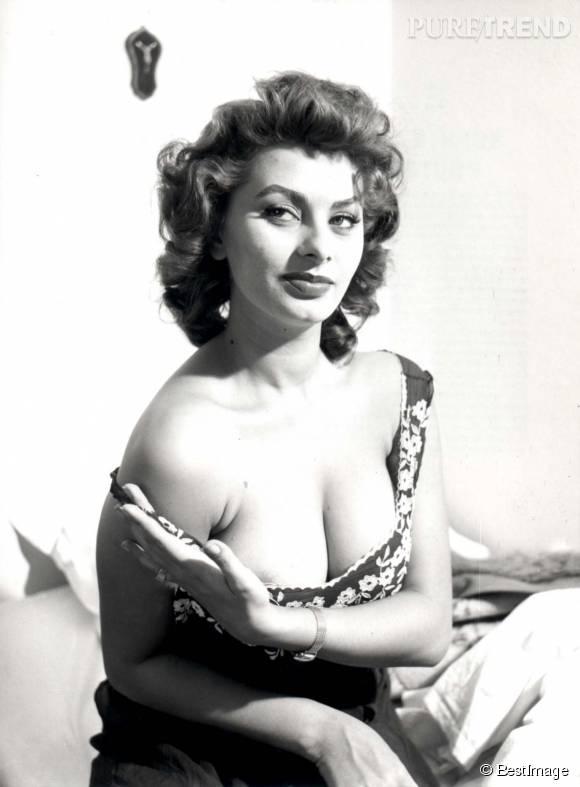 Sophia Loren a beaucoup joué de son sex-appeal...