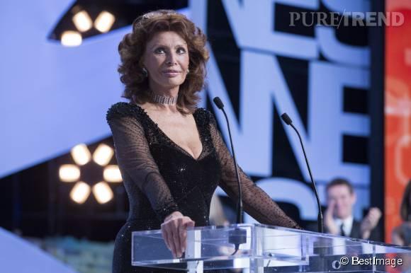 Sophia Loren, invitée du Festival de Cannes 2014, elle qui y a tant brillé.