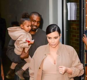 Kim Kardashian complètement nude, se fait pourtant voler la vedette par North