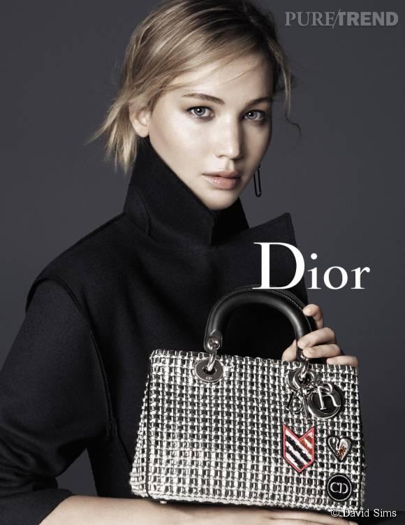Jennifer Lawrence pose pour la nouvelle campagne Dior.