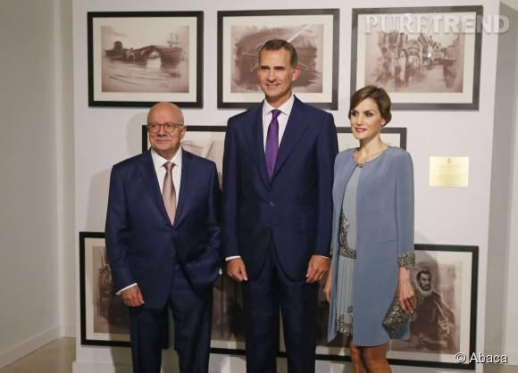 Letizia et Felipe VI d'Espagne sont en voyage officiel aux Etats-Unis.