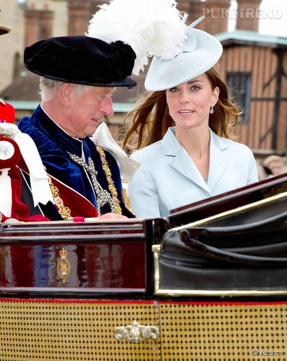 Le jour où Kate Middleton s'est fiancé à son fils William, le prince Charles a été clair : aucun homme n'aurait le droit d'assurer sa protection.